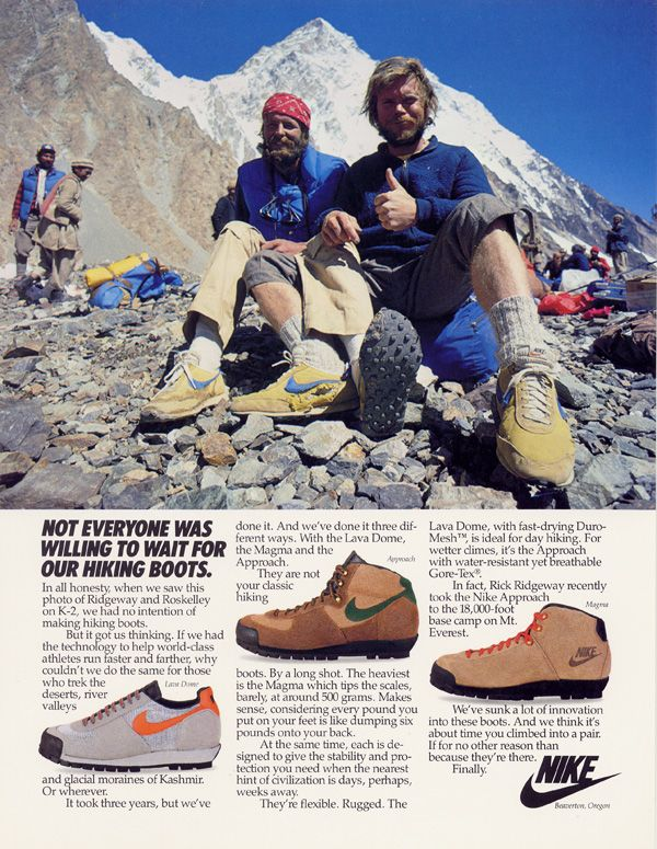 new product babd7 3fa18 In 1981, Nike Hiking was launched. The precursor to ACG, this range  featured a rugged trail shoe called the Lava Dome, an aptly-titled approach  boot named ...