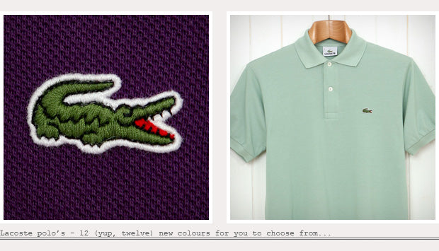 Lacoste Polo Shirts Colors Lacoste Polo Shirt