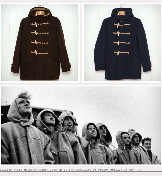 Glossary : The Duffle Coat – Oi Polloi