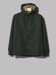Arpenteur Solo Hooded Snap Jacket (Navy)