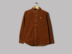 Carhartt Madison Cord Shirt (Brandy / Wax)