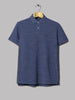 Polo Ralph Lauren Custom Fit Polo (Classic Royal Heather)
