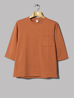 Jackman High-Density 1/2 Sleeved T-Shirt (Red Clay)
