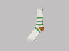 Anonymous Ism Line Crew Socks (Off White)