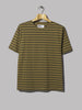 M.H.L. by Margaret Howell Short Sleeve Matelot (Faded Khaki / Olive Dry Jersey)