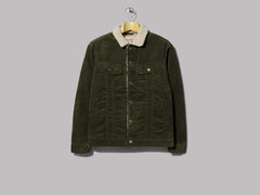 Lee Sherpa Jacket (Forest Night)