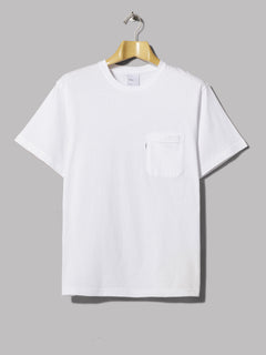 Adsum Short Sleeved Pocket Tee (White)