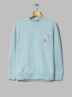 Albam Linen Blend Hoody (Light Blue)