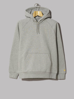 Carhartt Hooded Chase Sweatshirt (Cold Viola / Gold)