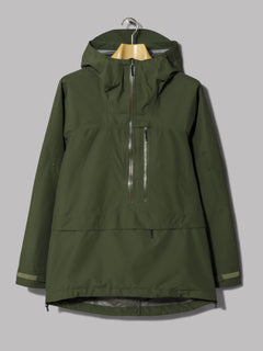 Goldwin Gore-Tex Mountain Pullover (Cypress Green)