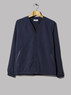 Nanamica ALPHADRY® Stretch Cloth Cardigan (Navy)