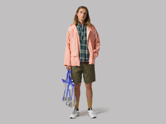 Battenwear Beach Parka (Coral Chambray)
