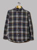 Beams Plus Button Down Shaggy Check Shirt (Brown)