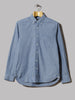 Beams Plus Button Down Chambray Shirt (Chambray)