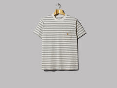 Carhartt Scotty Pocket T-Shirt (Scotty Stripe / White Heather / Grey Heather)