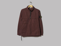 Stone Island Garment Dyed Overshirt (Purple)