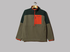 Cotopaxi Dorado Half Zip Fleece Jacket (Dark Forest / Spruce)