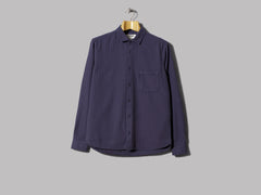 Y.M.C. Curtis Shirt Herringbone Flannel (Navy)