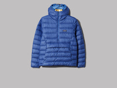 Patagonia Down Sweater Hoody Pullover (Superior Blue)