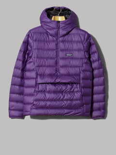 Patagonia Down Sweater Hoody Pullover (Purple)