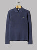 Lacoste Classic Long Sleeve Polo (Navy Marl)