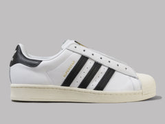 adidas Superstar Laceless Courtside (Ftwr White / Core Black / Gold Met)