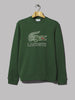 Lacoste Large Logo Crew Sweat (Green)