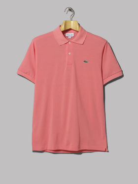 62a88502 Lacoste Contrast Collar Polo (Sky and White Stripe)