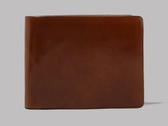 Il Bussetto Bi-Fold Wallet (Light Brown)
