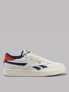 Reebok Club C Revenge MU (Chalk / Collegiate Navy / Legacy Red)