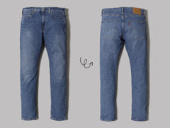 Levi's® 502™ Taper Fit Jeans (Wagyu Puddle)