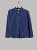 Corridor Dobby Long Sleeve Shirt (Indigo)