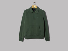 Stüssy Polo Zip Fleece (Green)