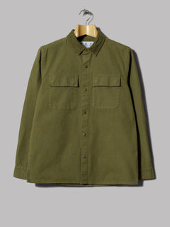 Barbour Slim Unlined Bedale Casual Jacket (Olive)