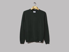 Norse Projects Sigfred Lambswool Knit (Quartz Green)