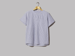 Engineered Garments MED Shirt (Blue / White CP Seersucker Stripe)