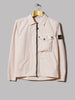 Stone Island Garment Dyed Old Effect One Pocket Zip Overshirt (Rosa Antico)