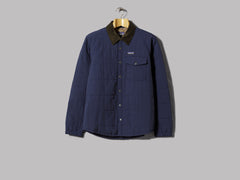 Patagonia Isthmus Quilted Shirt Jacket (New Navy)