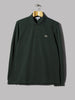 Lacoste Classic Long Sleeve Polo (Dark Green)