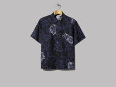 Norse Projects Carsten Flower Print Shirt (Twilight Blue)