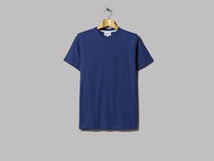 Norse Projects Niels Serif Logo T-Shirt (Twilight Blue)