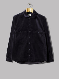 Y.M.C. Doc Savage Shirt Wale Cord Exclusive (Navy)