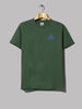Hikerdelic Mountain T-Shirt (Dark Green)