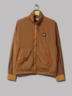 Stone Island Nylon Metal Track Jacket (Orange)