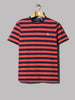 Polo Ralph Lauren Striped T-Shirt (Racing Red / French Navy)