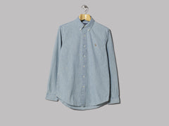 Polo Ralph Lauren Chambray Button Down Shirt (Chambray)
