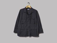 Engineered Garments BDU Jacket (Dark Navy Nylon Taffeta)