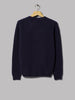 Norse Projects Birnir Brushed Lambswool Knit (Navy)