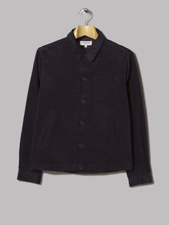 A Kind Of Guise Matsuba Cord Shirt (Dark Brown)