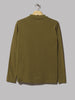 Lady White Co. Long Sleeve Placket Polo (Fern Green)